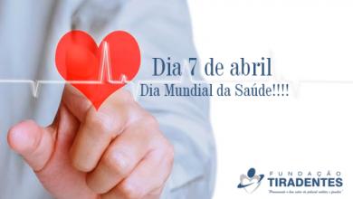 Photo of Dia 7 de abril – Dia Mundial da Saúde!!!!