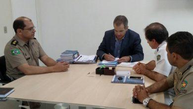 Photo of Secretaria de Saúde e Fundação tratam de convênio para estágio de alunos da FPM