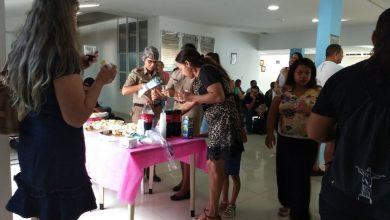 Photo of HPM confraterniza em café-da-manhã promovido para unidade