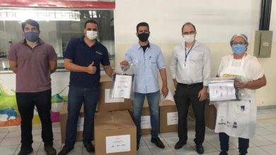 Photo of Senai doa protetores faciais para Fundação Tiradentes disponibilizar ao corpo de saúde da PM