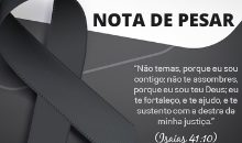 Photo of Nota de Pesar: Major RR Lazaro Romão de Souza