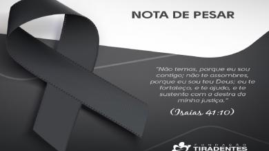 Photo of Nota de Pesar: Tenente Coronel Hrillner Braga Ananias