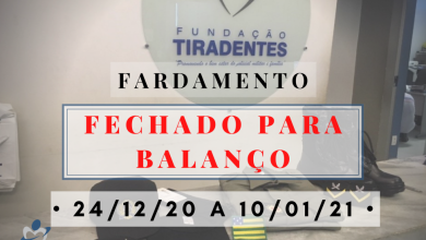 Photo of Fundação Tiradentes Informa – Suspensão do Atendimento do Setor de Fardamento