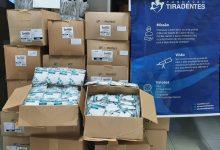 Photo of Fundação Tiradentes Distribuiu Doze Mil Máscaras para Efetivo da PMGO para Policiamento das Eleições Municipais